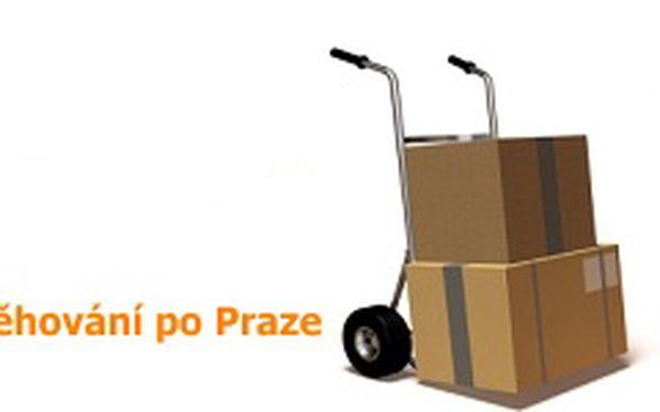 Stěhování po Praze - 1 hodina ve 2 lidech + DOPRAVA ZDARMA