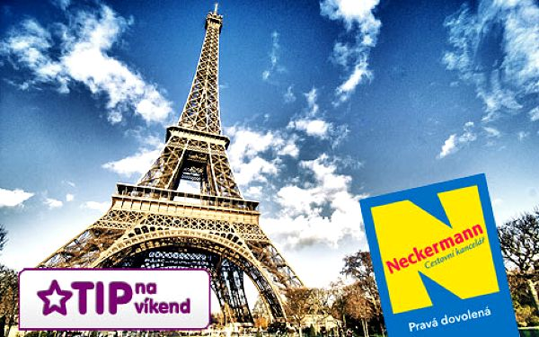 Víkend v Paříži letecky s plavbou po Seině – 2denní zájezd pro 1 osobu