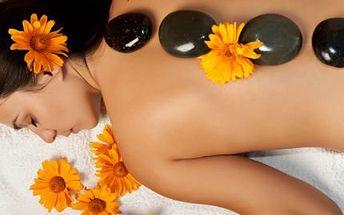 45minutová masáž! Lávové kameny za super cenu a 30% sleva na další masáž dle výběru!