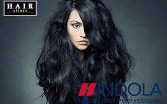 Farbenie vlasov s rekonštrukčnou farbou INDOLA + podstrihnutie + argánový olej! Doprajte vašim vlasom špičkovú starostlivosť v HAIR CLINIC!