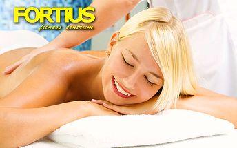 Len 6,90 € za polhodinovú klasickú masáž! Načerpajte nové sily, užite si relax a odstráňte bolesti chrbta a stuhnutých svalov v príjemnom prostredí fitness centra FORTIUS!