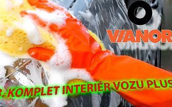 Jen 899 Kč za RUČNÍ MYTÍ a vyčištění Vašeho vozu (program č.3 Komplet interiér vozu Plus) se slevou 50% v Auto-Pneu-Sklo Vianor v Plzni. Svěřte svého plechového miláčka do nejlepších rukou, kde o něj bude postaráno s maximální péčí! Doba mytí přibližně 3 hodiny a součástí je i tepování sedaček!