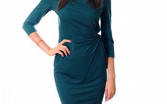 Dámské modrozelené šaty Ribelli