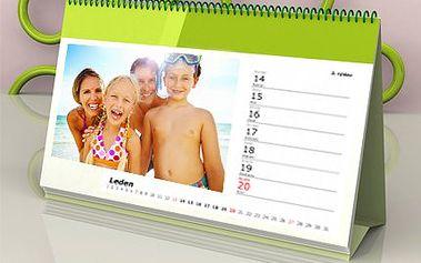 Kalendář z vlastních fotografií! Věnujte svým blízkým originální dárek na rok 2013!