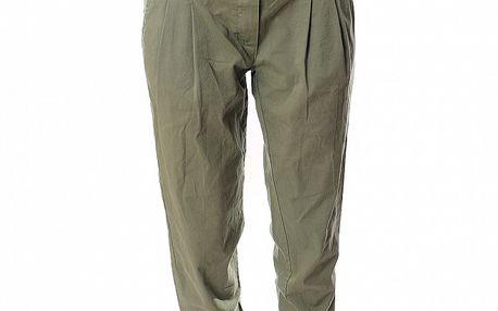 Dámské zelenošedé kalhoty Ribelli