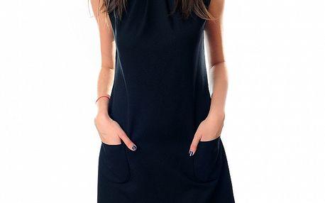 Dámské černé šaty Ribelli