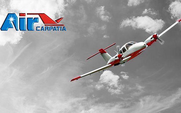 Splnenie sna už od 78 €. Svet z vtáčej perspektívy - okružný let alebo pilotovanie lietadla na skúšku so 42% zľavou.