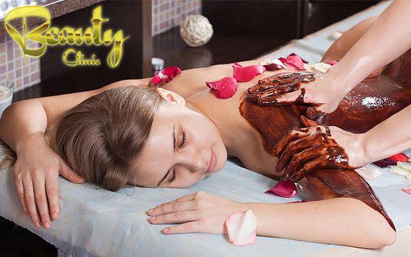 Vychutnajte si čokoládu celým telom len za 18,90 €. Potešte svoje zmysly čokoladovým zábalom, telovým pílingom z brazílskej kávy a masážou chrbta so 68% zľavou.