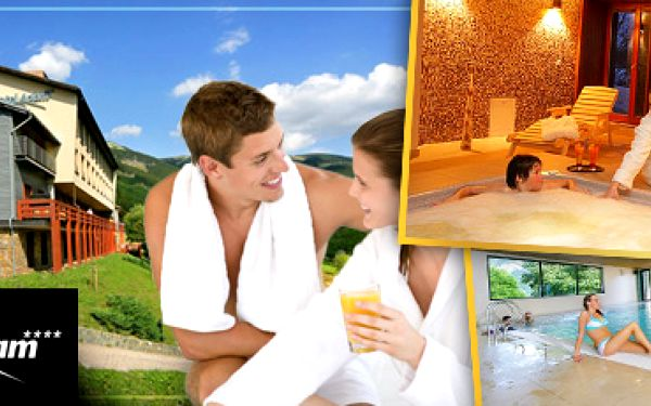 Luxusní wellness pobyt ve Špindlerově Mlýně až s 54% slevou!