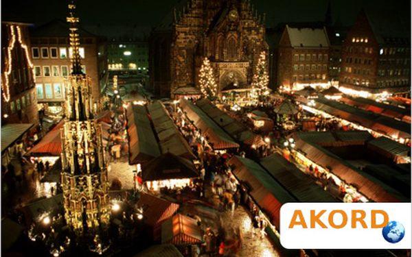 Adventní výlet do Norimberku. Prohlídka města i vánoční trhy.
