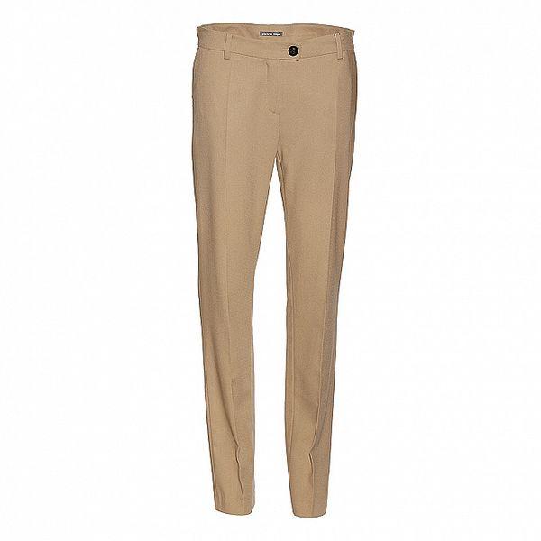 Dámské béžové kalhoty Pietro Filipi s puky