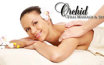 Doprajte si profesionálnu thajskú masáž. Oddych a dokonalý relax v prostredí novootvoreného salónu Orchid teraz len za 26 €.