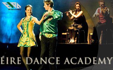 Írsky tanec je jedinečný tanečný štýl, ktorý sa vyvíjal počas mnohých storočí. Naučte sa ho teraz so 60% zľavou. Len 26,40 € za 3 mesačný kurz pre deti aj dospelých.