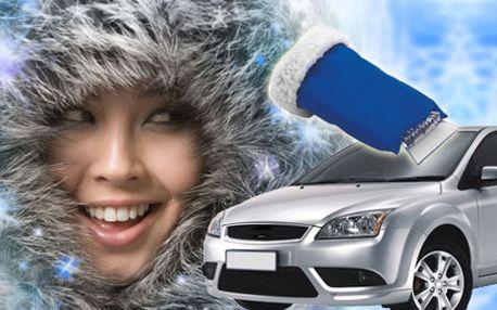 Unikátny pomocník do mrazivých dní! Škrabka na sklo auta s teplou rukavicou len za 4,40 € aj s poštovným. Už si nemusíte špiniť ruky a mrznúť pri rannom škrabaní okien s našou 51% zľavou.