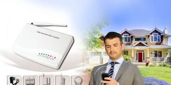 Unikátní bezdrátový GSM ALARM za 1990 Kč včetně poštovného! Chraňte svůj majetek i své nejbližší. Konfigurace s Vaším mobilem, snadná instalace i pro laika!