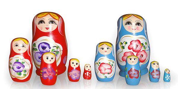 99 Kč za nejznámější evropskou hračku Matriošku. Zavzpomínejte na své dětství a darujte svým ratolestem tuto kouzelnou hračku.