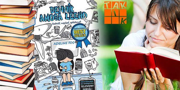Medzinárodný knižný bestseller - Denník Amosa Leeho - Sadnúť, napísať, spláchnuť.
