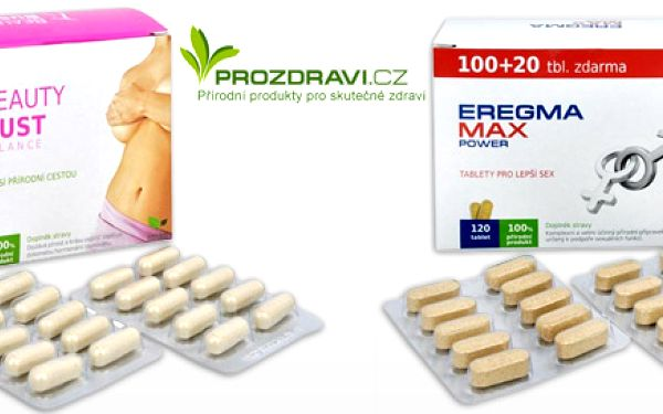100% přírodní doplňky stravy pro muže a ženy