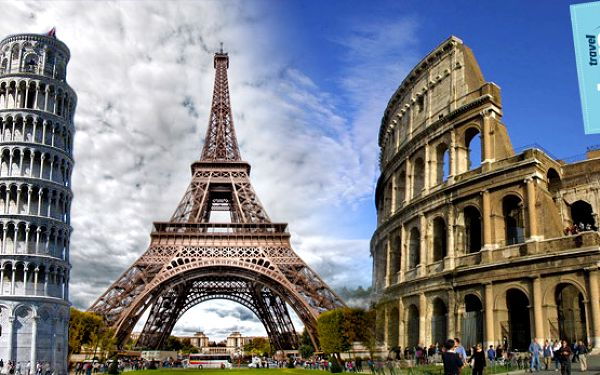 Krása a pompéznosť Paríža, Ríma či Amsterdamu. 4 dňový zájazd.