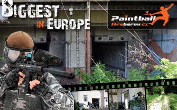 Jen 145 Kč za bitvu v největších paintballových areálech Evropy!