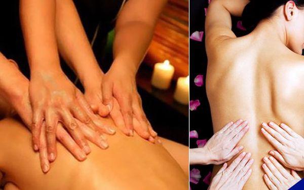 Luxusní 80 minutová čtyřruční masáž Králů a královen - 2 profesionální masérky vás budou 80 minut hýčkat masáží celého těla! Salón AGLAIA v Plzni se těší na vaší návštěvu!