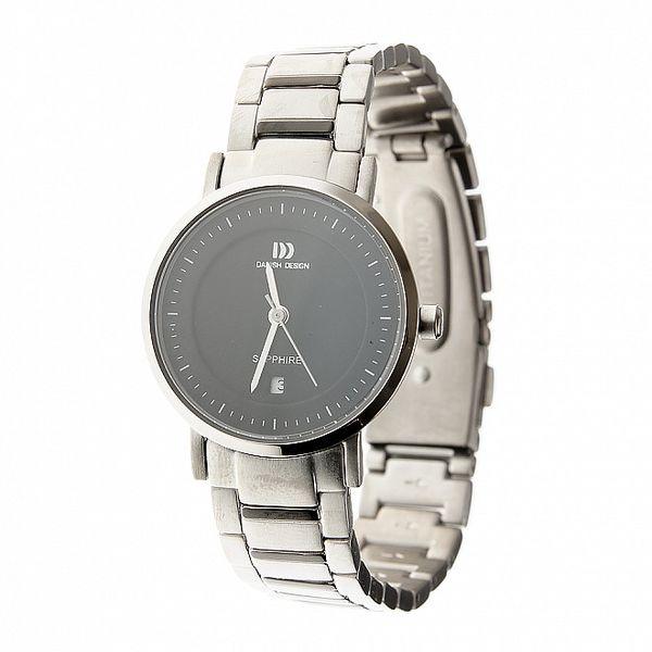 Dámské titanové hodinky Danish Design s černým ciferníkem