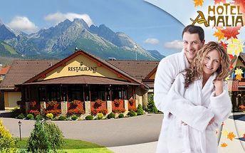 Len 99€ za tri dni vo Vysokých Tatrách v talianskom štýle. Pobyt pre dve osoby s voľným vstupom do bazéna, fitness a wellness centra s 56% zľavou.