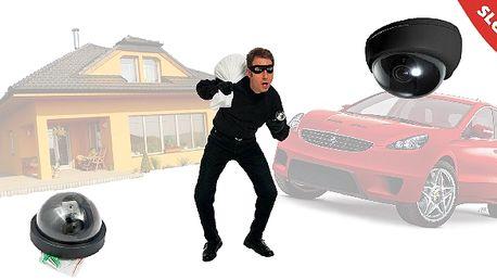 Chraňte svůj majetek, ATRAPA KAMERY účinně pomůže....