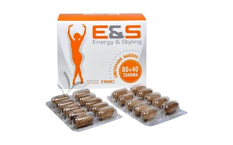 Celius E&S - Energy & Styling 80 tbl. + 40 tbl. zdarma