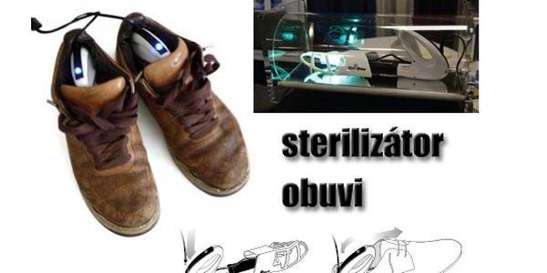Ultrafialový sterilizátor bot SteriShoe® za 2388Kč