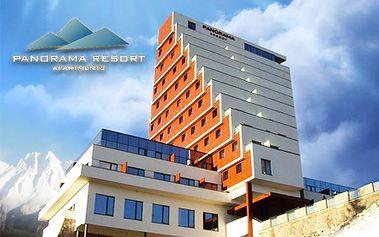 Luxusný pobyt v zrekonštruovanom hoteli Panorama pri Štrbskom plese pre 2 - 4 osoby so zľavou až do 69%! Skvelá lyžovačka, nekonečné možnosti turistiky a aktivít!