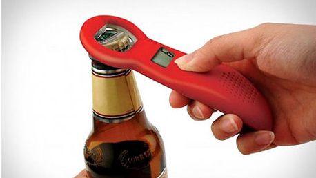 Vtipný a zaručeně praktický dárek – otvírák na lahve s počítadlem za 99 Kč! Buďte vždy v obraze!