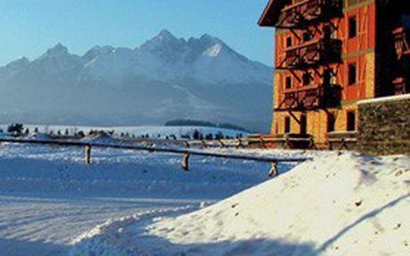 Úžasné LYŽOVÁNÍ a ubytování na SLOVENSKU: 4 dny v luxusních apartmánech v Tatragolf Mountain Resorts**** pod Vysokými Tatrami!