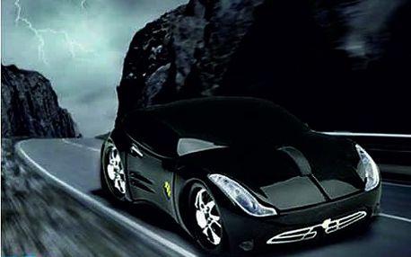 Pořiďte si luxusní myš k Vašemu PC!! USB myš ve tvaru černého Porsche!! Nyní za neuvěřitelnou cenu 199 Kč!! Slevoviny.cz