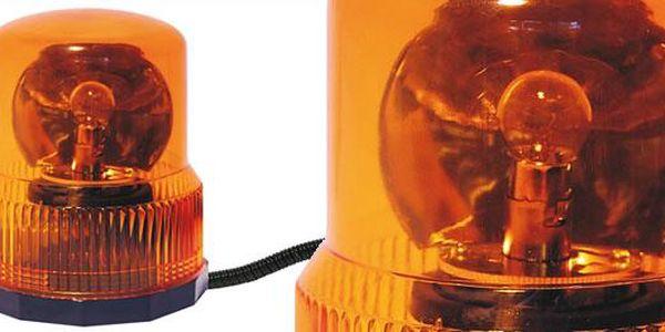 Výstražný zábleskový maják 12V