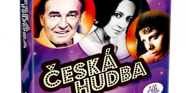 Zábavná hra Česká hudba o slavíka + Albi Diáře mix v hodnotě 99 Kč ZDARMA
