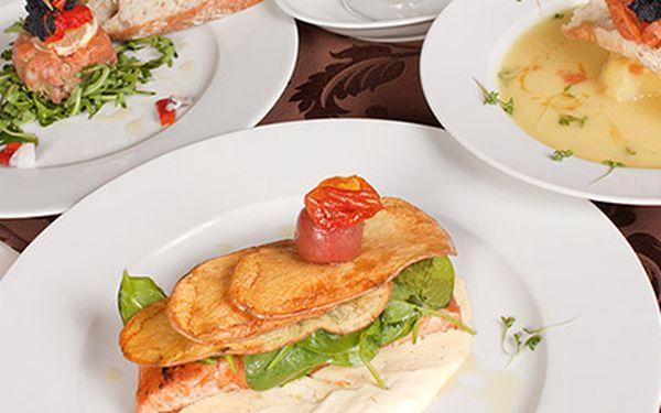 Luxusná lososová večera pre 1 až 2 osoby