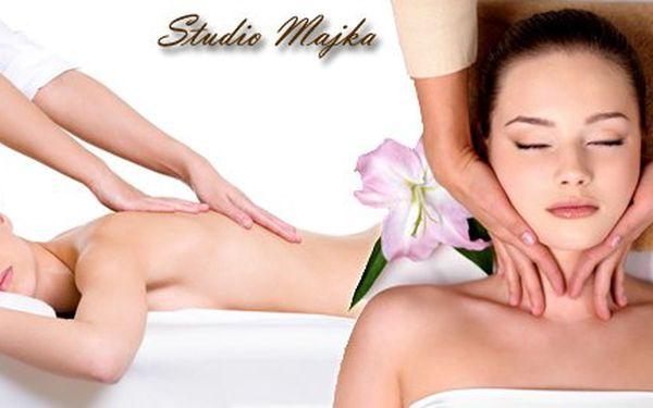 45 minutová rekondiční nebo thajská masáž od Studia Majka v Ostravě za pouhých 159 Kč! Naprostá úleva s 54% slevou.