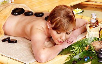 60-minútová kráľovská masáž lávovými kameňmi ZA POLOVICU + ZDARMA reflexná masáž chodidiel! Zrelaxujte si telo a myseľ v salóne Bellissima!