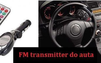 FM transmitter do auta so zľavou až 55%!!!