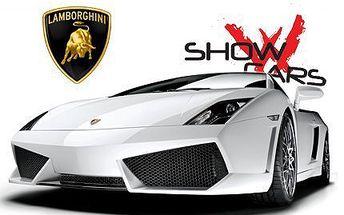 Projeďte se autem svých snů! 30minutová adrenalinová jízda ve Ferrari, Ford Mustang i Lamborghini!