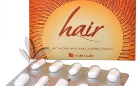 Herb Pharma Hair tablety na omlazení a podporu růstu vlasů 60 tbl.