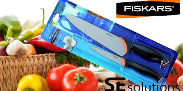 Kvalitní nože, skvělý design a špičková kvalita za super cenu 349 Kč. Výjimečný kuchyňský a loupací nůž od firmy Fiskars s ostrou slevou 56 %.
