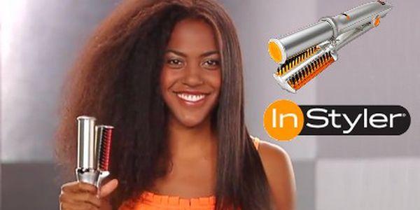 Jen 899 Kč za revoluční rotační žehličku na vlasy InStyler. Nespálí, neničí, ale naopak navlní, nadýchá nebo vykouzlí úžasný objem a lesk Vašich vlasů. Skvělá akce s 50% slevou.