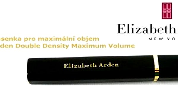 Luxusní řasenka Elizabeth Arden Double Density Maximum Volume