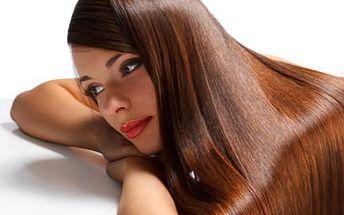 Brazilský keratin! Dodejte vlasům sílu, hebkost a lesk! Včetně stylingu a foukané!