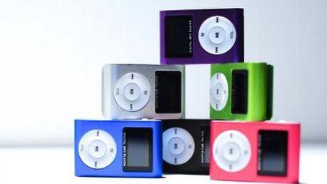 Mini MP3 prehrávač s LCD displejom! Až 8 GB slot pre pamäťovú kartu, hliníkové telo a nabíjanie pomocou USB kábla! Majte svoju obľúbenú hudbu stále so sebou!