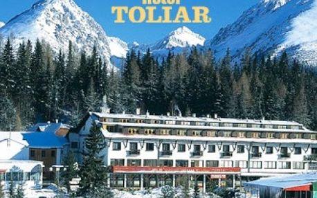 Wellness pobyt VYSOKÉ TATRY- priamo na ŠTRBSKOM PLESE v hoteli TOLIAR ***. 3 dni pre 2 osoby s polpenziou a vstupom do kvalitného vitálneho sveta priamo v hoteli.