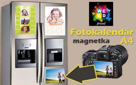 Len 3,90 € vrátane poštovného za fotomagnetku s kalendárom a Vašimi vlastnými fotkami veľkosti A4! Vaše momentky či umelecké zábery vás budú sprevádzať počas celého roka 2013!