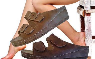 Zdravotní pantofle Koka! Pohodlné pantofle pro správné držení těla v různých barvách i velikostech!